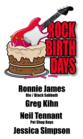 Rock Birthdays – July 10