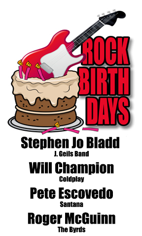 Rock Birthdays – July 13