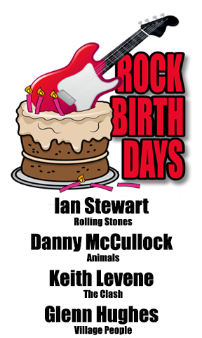 Rock Birthdays – July 18