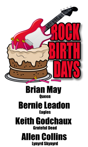 Rock Birthdays – July 19
