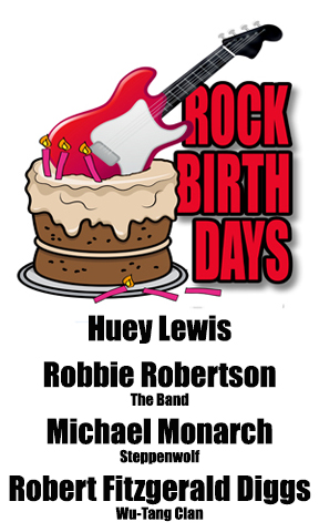 Rock Birthdays – July 5