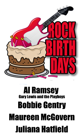 Rock Birthdays – July 27
