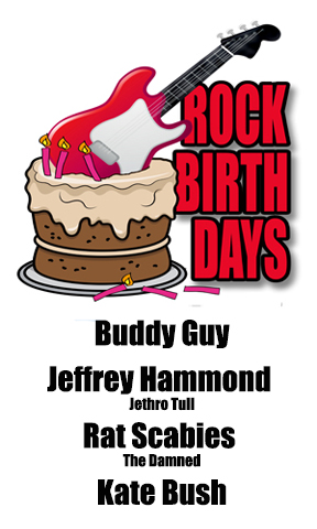 Rock Birthdays – July 30