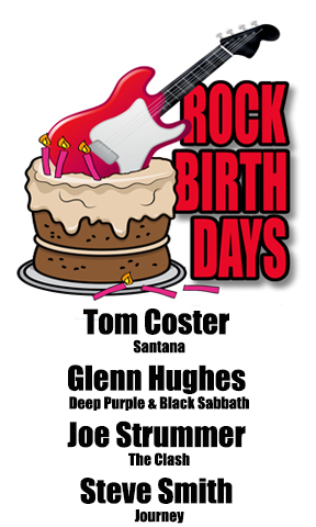 Rock Birthdays – August 21