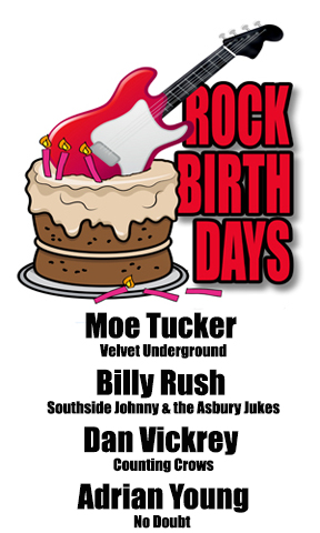 Rock Birthdays – August 26