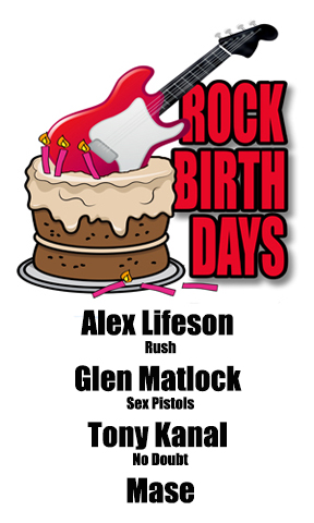 Rock Birthdays – August 27