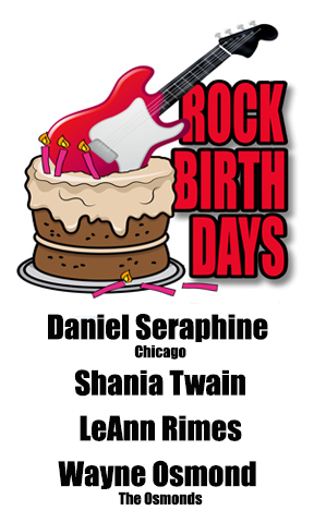 Rock Birthdays – August 28