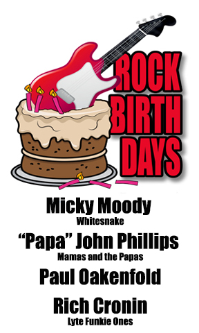 Rock Birthdays – August 30