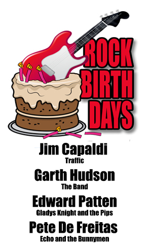 Rock Birthday – August 2