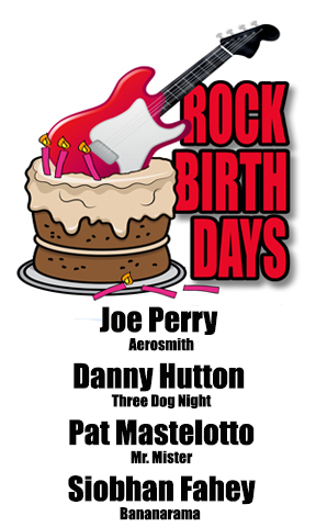 Rock Birthdays – September 10