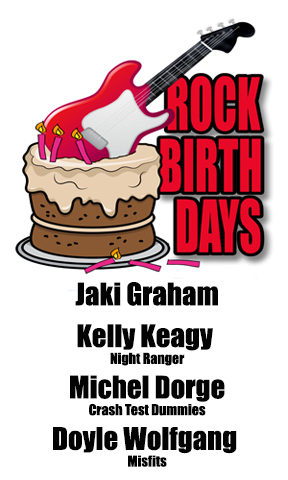 Rock Birthdays – September 15