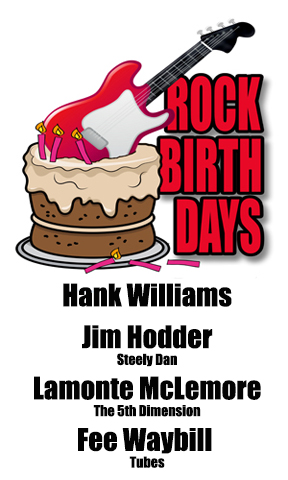 Rock Birthdays – September 17
