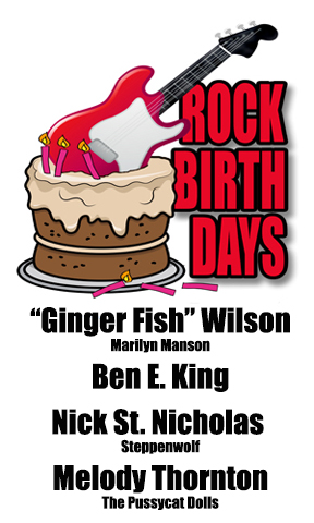 Rock Birthdays – September 28