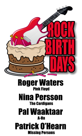 Rock Birthdays – September 6