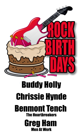 Rock Birthdays – September 7