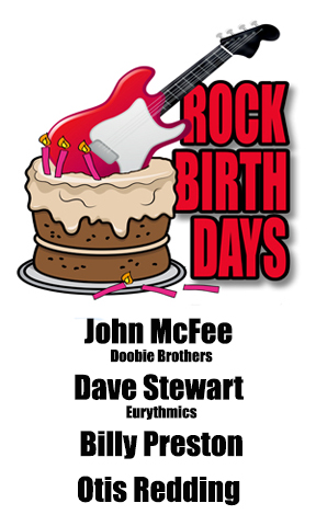 Rock Birthdays – September 9