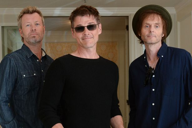 Magne Furuholmen, Morten Harket and Paul Waaktaar-Savoy