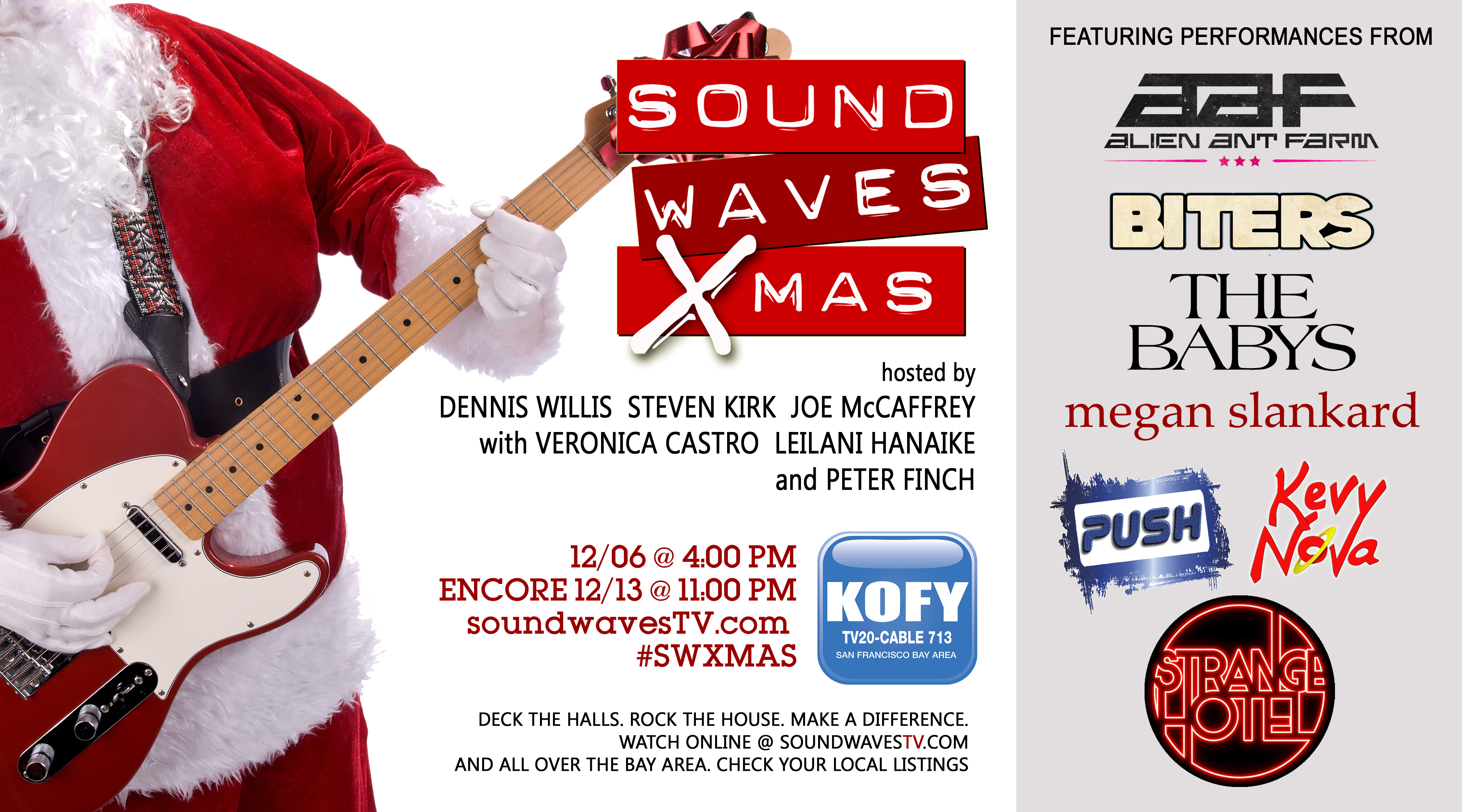 SOUNDWAVES XMAS 2015 to premiere December 6th