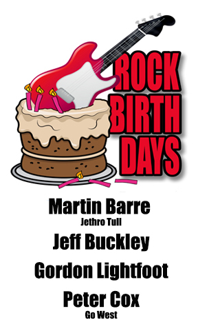 Rock Birthdays – November 17