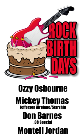 Rock Birthday – December 3