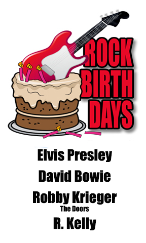 Rock Birthdays – January 8