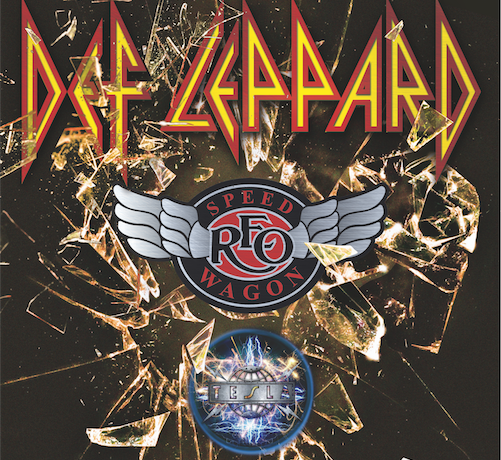 Def Leppard, REO Speedwagon and Tesla announce 2016 Tour