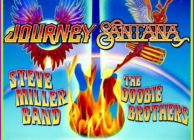 Journey, Santana, Steve Miller Band, The Doobie Brothers to rock AT&T Park