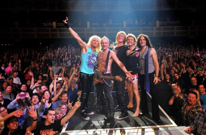 "Def Leppard release funky new video ""Man Enough"""