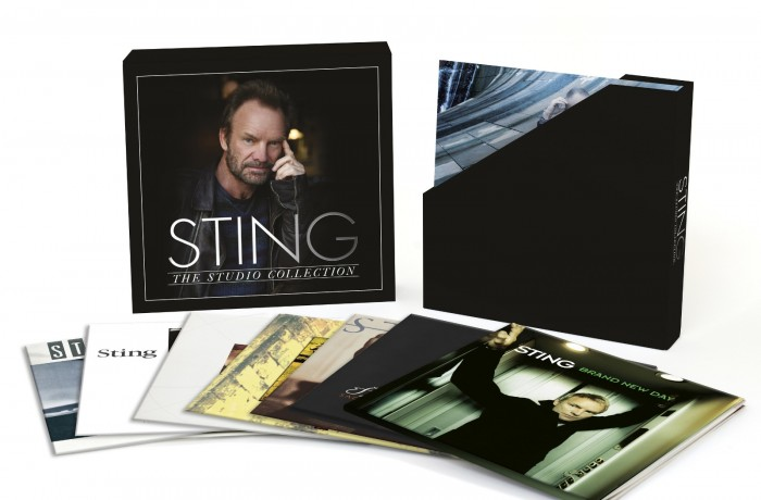 Sting to Release New Album and career-spanning Studio Collection on 180 gram Heavyweight Vinyl