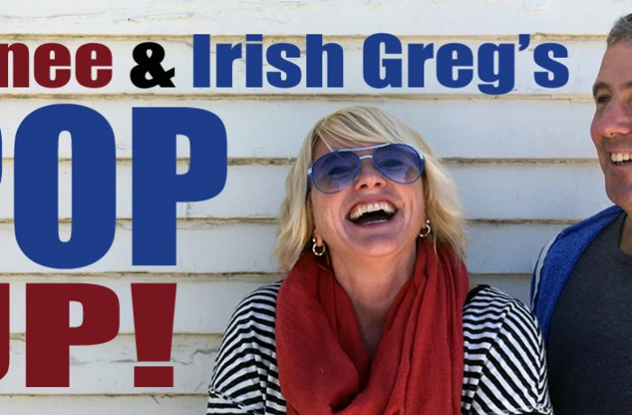 Renee & Irish Greg's Pop UP! Episode #9: Cookies'n'Beer w/ Lucas Ohio Pattie and Greg Greg Loiacono