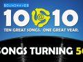Soundwaves 10@10 #312 – Songs Turning 50