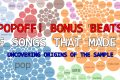 PopOff Bonus Beats: The Songs That Made Vol. 1