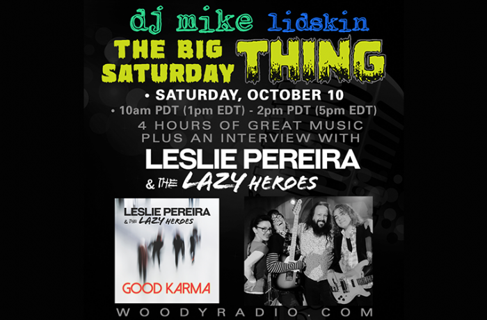 DJ Mike Show #155 – 10/10/2020: Leslie Pereira & The Lazy Heroes interview