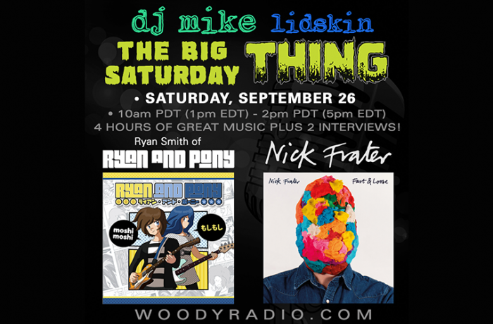 DJ Mike Show #151 – 9/26/2020: Interviews with Ryan Smith of Ryan and Pony, and Nick Frater