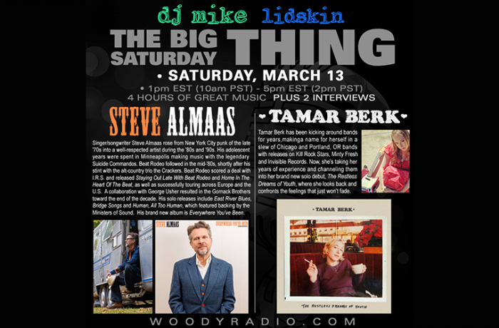 DJ Mike Show #198 – 3/13/2021: Interviews with Steve Almaas and Tamar Berk!