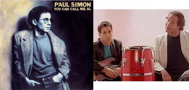"Paul Simon, ""You Can Call Me Al"""