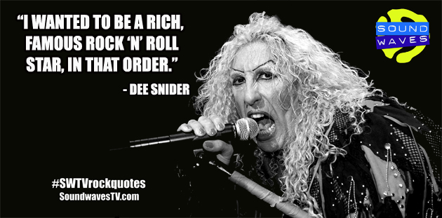 Rock Quotes: Dee Snider