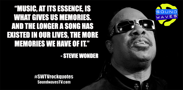 Rock Quotes: Stevie Wonder