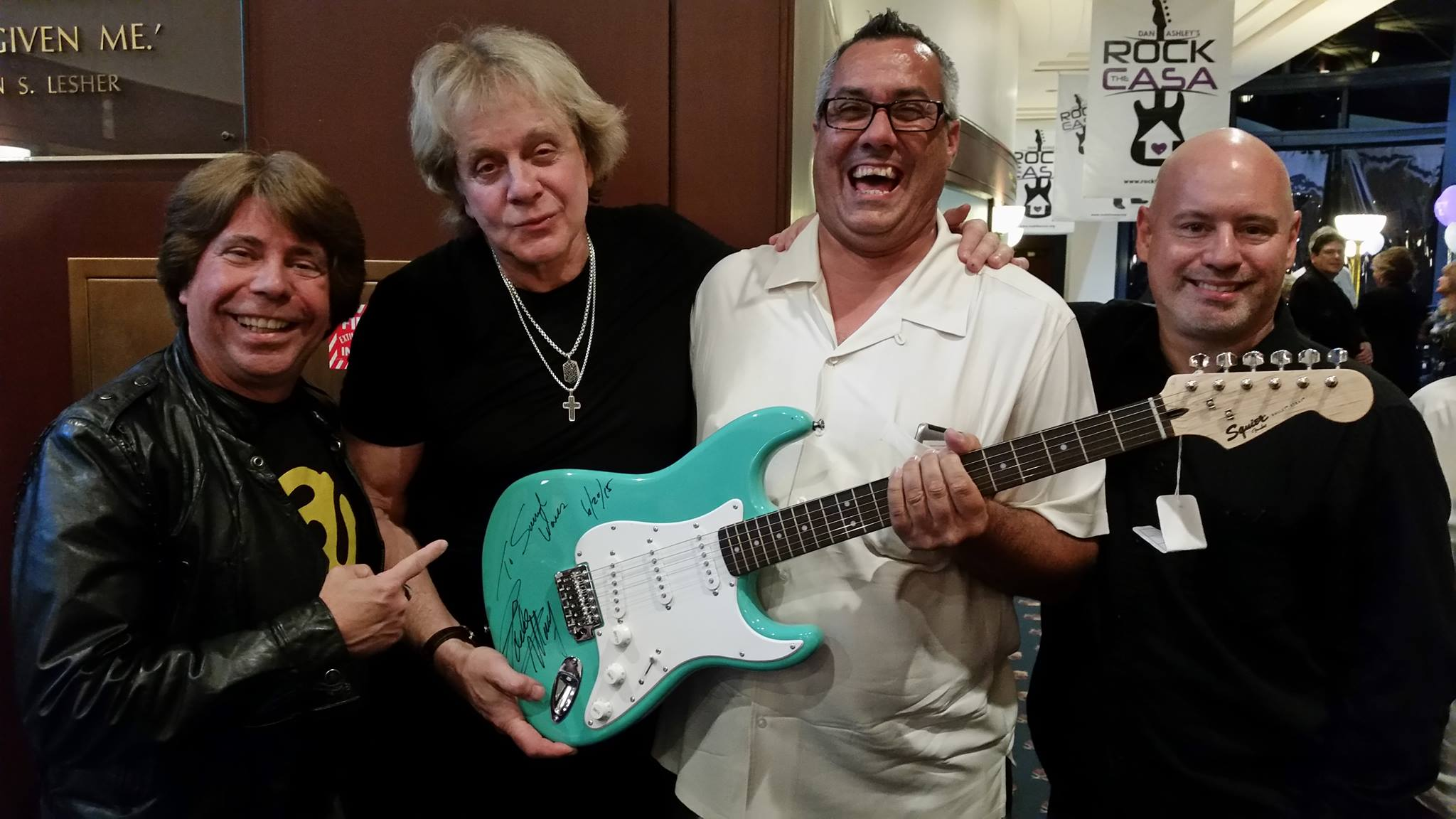 Soundwaves supports Dan Ashley's Rock the CASA event with Eddie Money