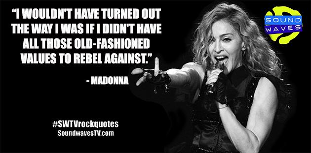 Rock Quotes: Madonna
