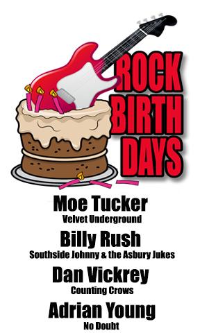 Rock Birthdays – August 26