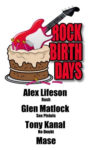 Rock Birthdays – August 27
