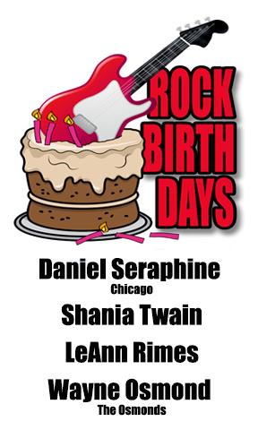 Rock Birthdays – August 28