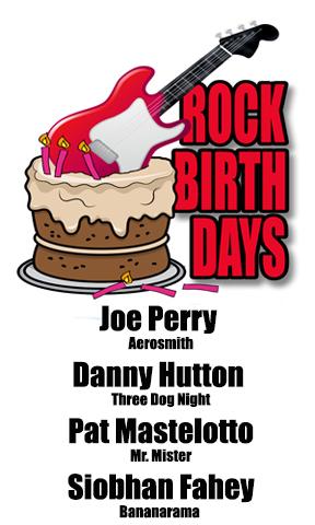 Rock Birthdays – September 10
