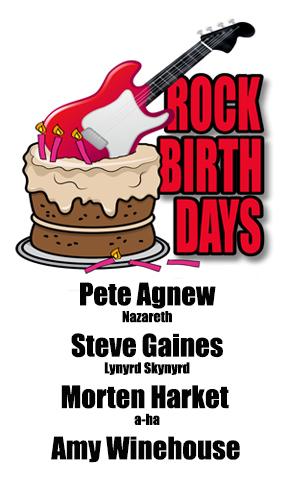 Rock Birthdays – September 14