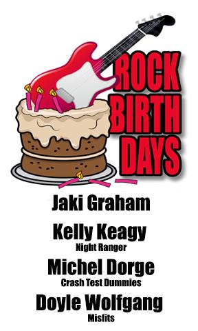 Rock Birthdays – September 15
