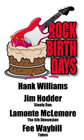 Rock Birthdays – September 17