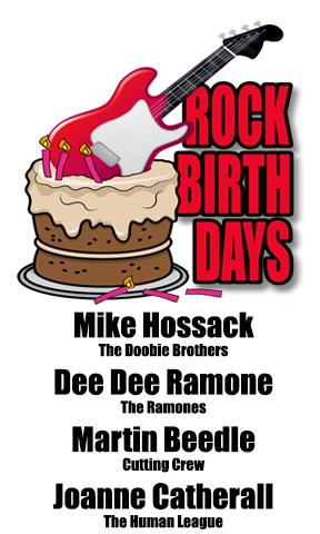 Rock Birthdays – September 18