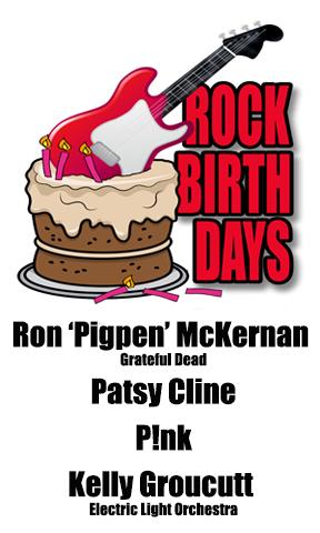 Rock Birthdays – September 8