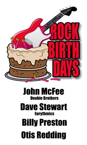 Rock Birthdays – September 9
